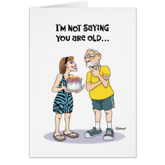 """Funny """"Over the Hill"""" 67th Birthday Card"""