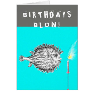 funny over-the-hill birthday greeting card