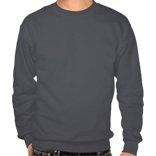 Funny over the hill joke pull over sweatshirts