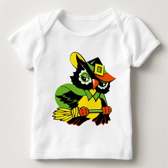 Funny Owl Halloween Baby T-Shirts