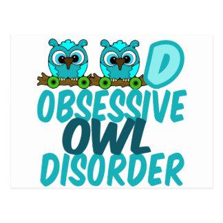 Funny Owl Postcard