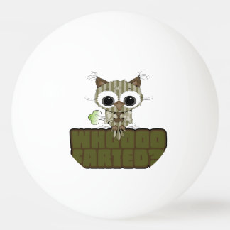 Funny Owl  Whooo Hoot Farted Ping Pong Ball