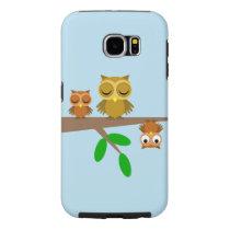 funny owls samsung galaxy s6 case