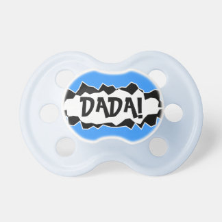 Funny Pacifier / Dummy for baby boy BooginHead Pacifier