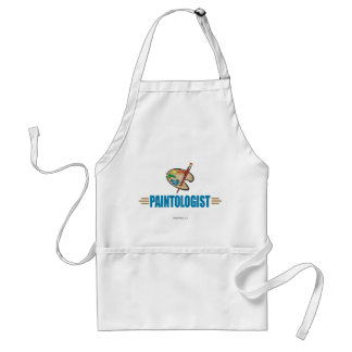 Funny Painter Adult Apron