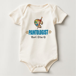Funny Painter Baby Bodysuit