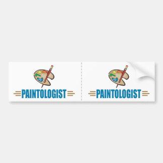 Funny Painter Bumper Sticker