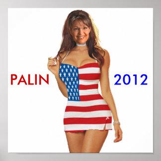 Funny Palin 2012 Poster t shirt t shirts 2012