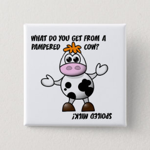 what do you get from a pampered cow