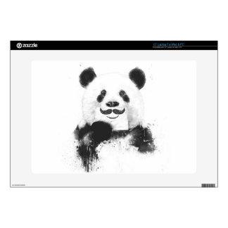 "Funny panda 15"" laptop decals"
