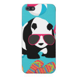 Funny Panda Bear Beach Bum Cool Sunglasses Surfing iPhone SE/5/5s Cover