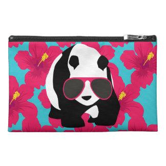 Funny Panda Bear Beach Bum Cool Sunglasses Tropics Travel Accessory Bag