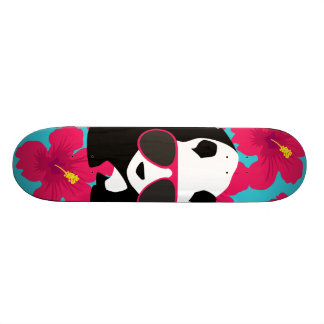 Funny Panda Bear Beach Bum Cool Sunglasses Tropics Skateboard Deck