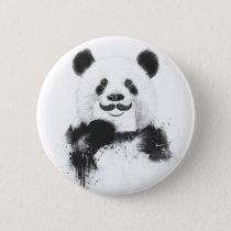 Funny panda button