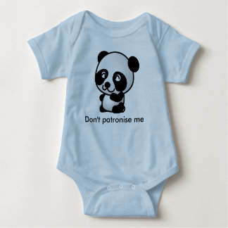 Funny Panda Jumpsuit For Baby Boy Baby Bodysuit