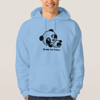 Funny Panda relaxing cartoon 'Born to chill' tee