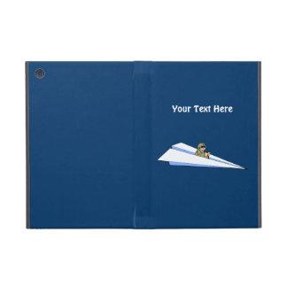 Funny Paper Airplane Pilot iPad Mini Case
