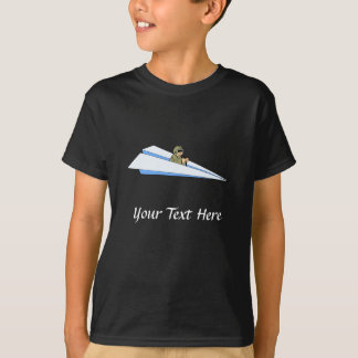 Funny Paper Airplane Pilot T-Shirt