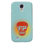 Funny Papers Skull Logo iPhone Case