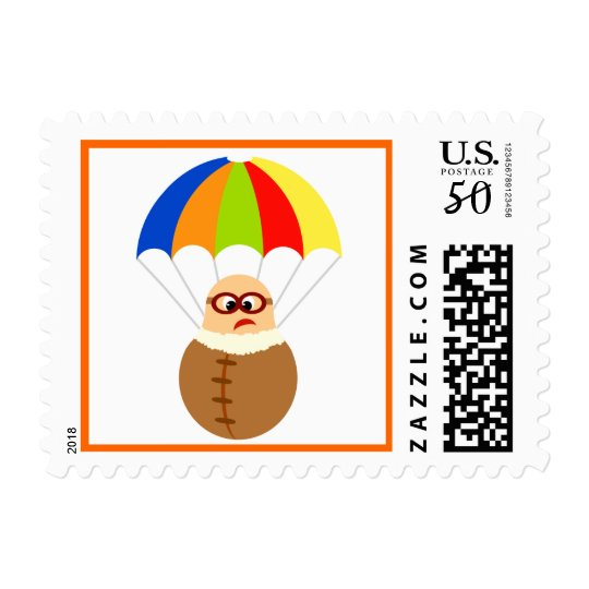 Funny Parachute Stamps