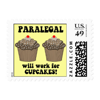 funny paralegal stamp