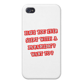 Funny Paramedic Pick-Up Line iPhone 4/4S Case