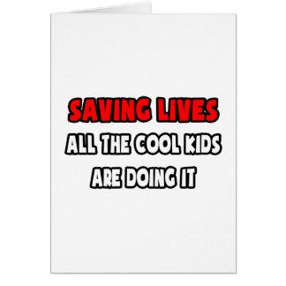Funny Paramedic Shirts and Gifts Greeting Card