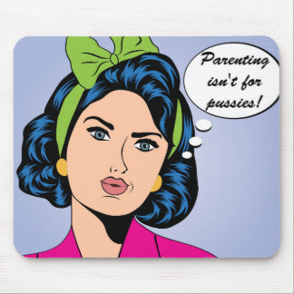 Funny Parenting Mousepad