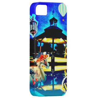 Funny Park Scene Goose Fish Hot Air Balloon iPhone iPhone SE/5/5s Case