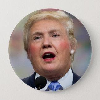 Funny Parody Donald Clinton Button