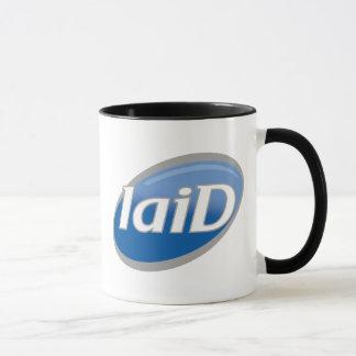 "Funny Parody of Famous Soap Logo - ""laiD"" Mug"