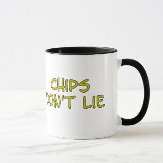 Funny Parody slogan Chips Mug