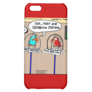 Funny Parrots Bathroom Fixtures Gifts &  iPhone 5C Covers