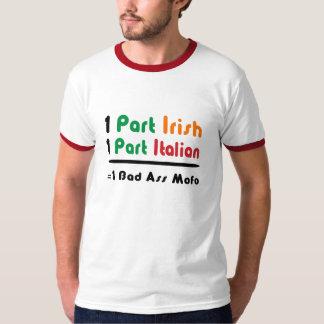 Funny Part Irish Part Italian Mens T-Shirt