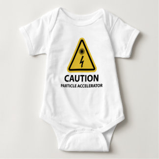 Funny Particle Accelerator Science Baby Bodysuit