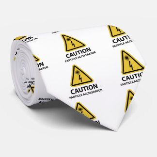 Funny Particle Accelerator Science Tie
