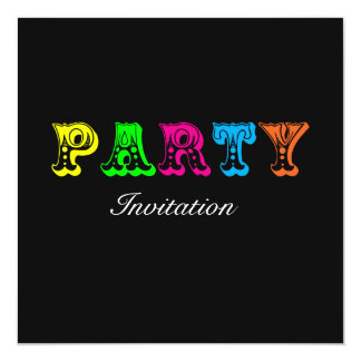 Funny Party Invite