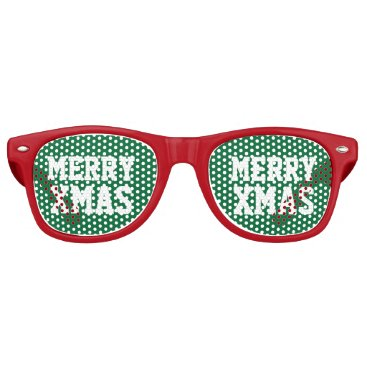 Christmas Themed Funny party shades for Christmas in July