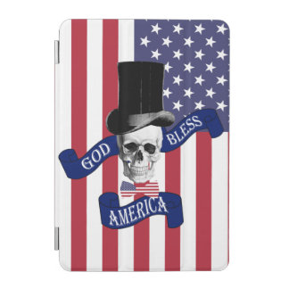 Funny patriotic American flag iPad Mini Cover