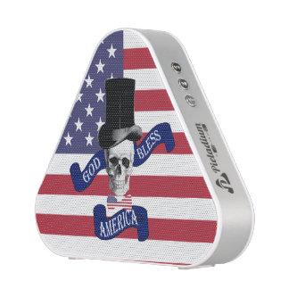 Funny patriotic American flag Speaker