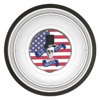 Funny patriotic American Pet Bowl