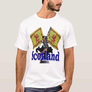 Funny patriotic scottish T-Shirt