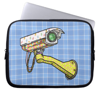 Funny Pattern Security Camera Computer Sleeve