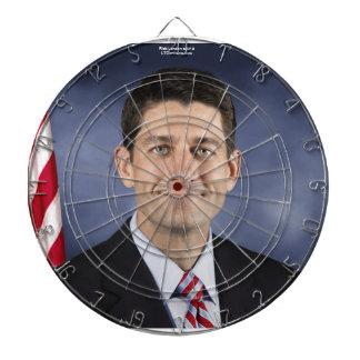 Funny Paul Ryan Dart Board by Rick London Dart Board
