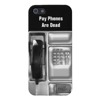 Funny Pay Phone iPhone 5 Case