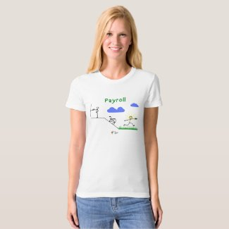 Funny Payroll Accounting Shirt for Women