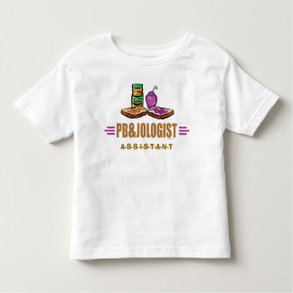 Funny Peanut Butter Jelly Sandwiches Toddler T-shirt