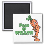funny peas and what worried carrot refrigerator magnets