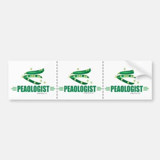 Funny Peas Bumper Sticker