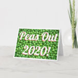Funny Peas Out Christmas 2020 Holiday Card